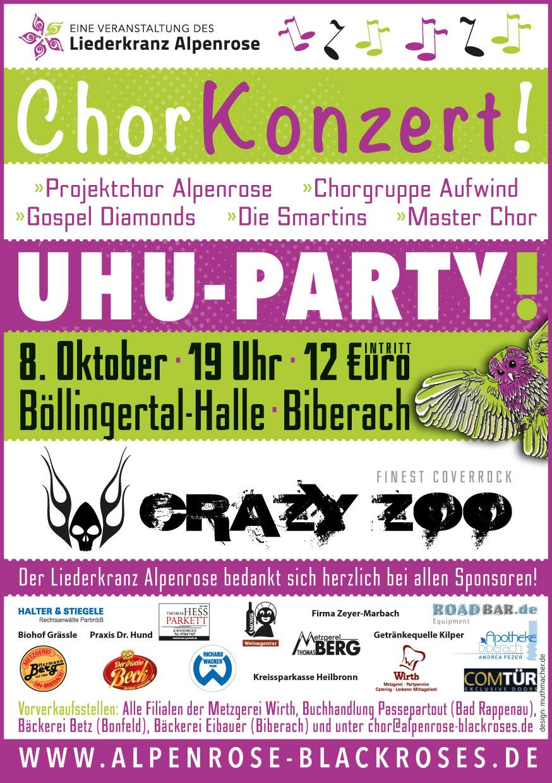 UHU-Party – Liederkranz Alpenrose